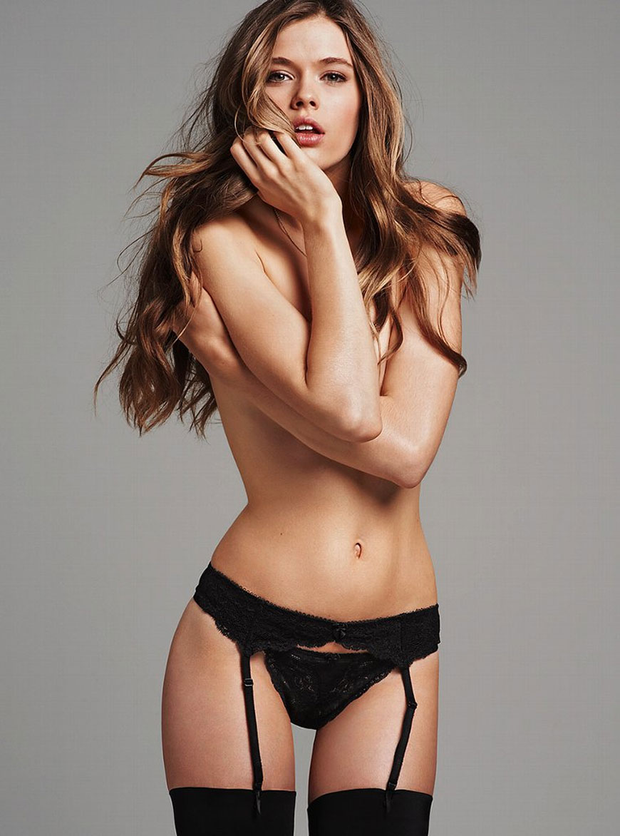 Victoria Lee voor Victoria Secret lingerie (6)