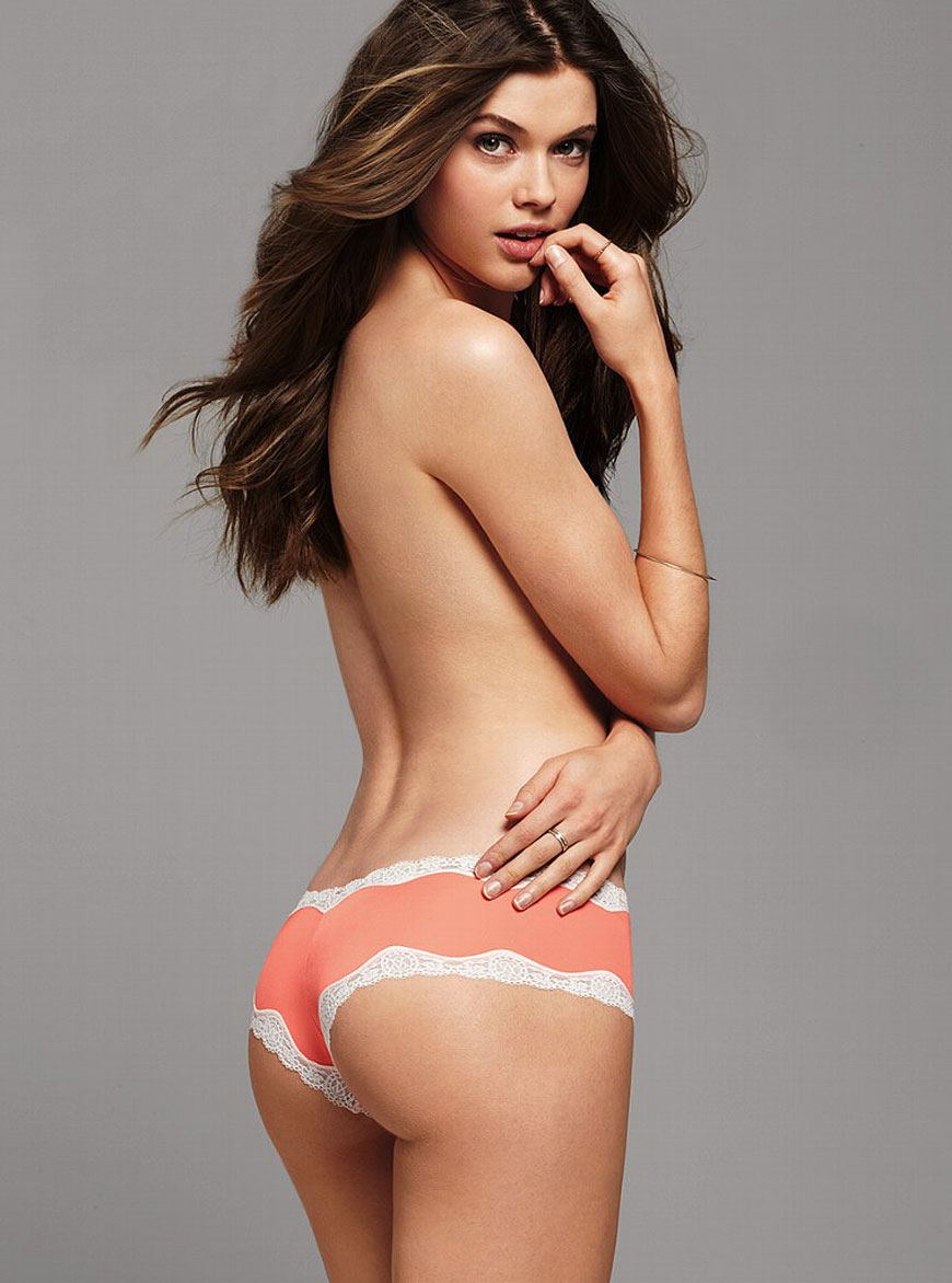 Victoria Lee voor Victoria Secret lingerie (3)