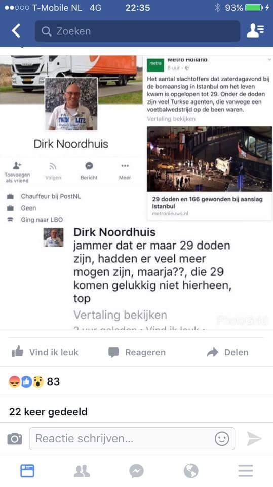 facebook bericht
