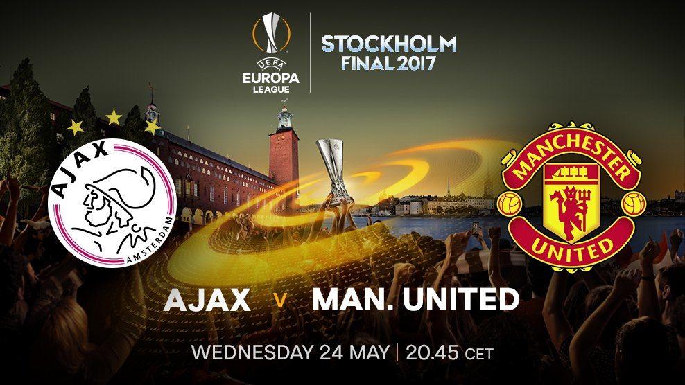 Ajax vs Manchester united in Stockholm