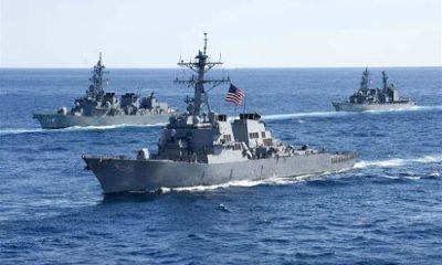 Marine van VS