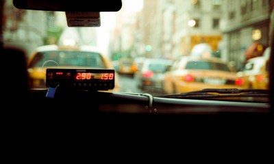 taximeter in taxi