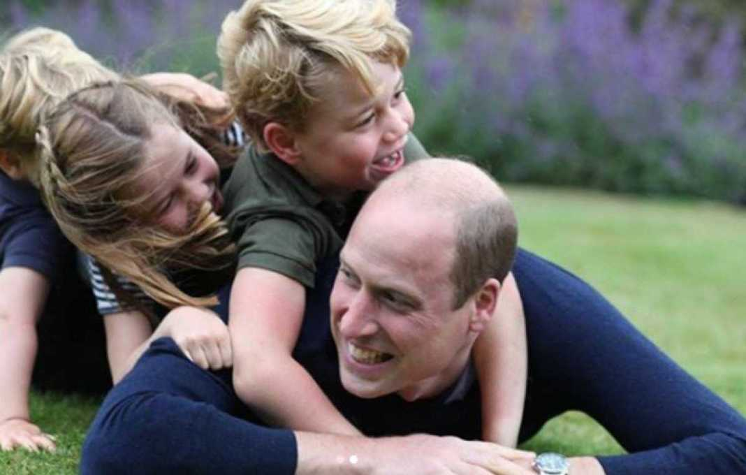 Prins William en kinderen