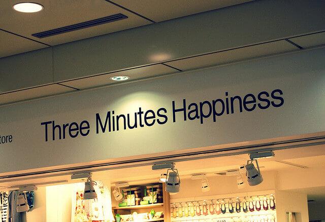 Dame 3 minutos de tu tiempo