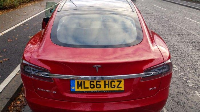 Tesla Model S Rear