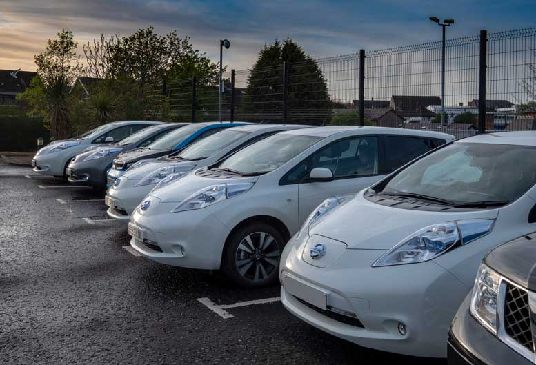 Electric Car Line Up