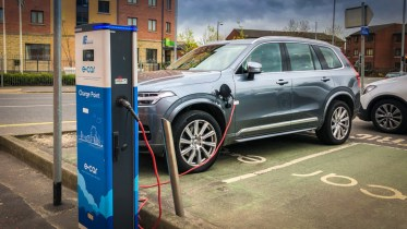 Volvo PHEV Charging in Belfast