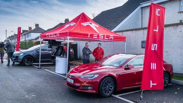 Tesla Belfast 2018