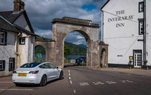 Tesla Model 3 - Inveraray, Scotland
