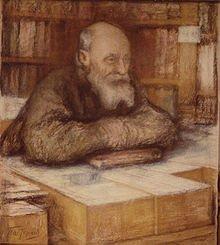 Mikołaj Fiodorow, portret autorstwa Leonida Pasternaka