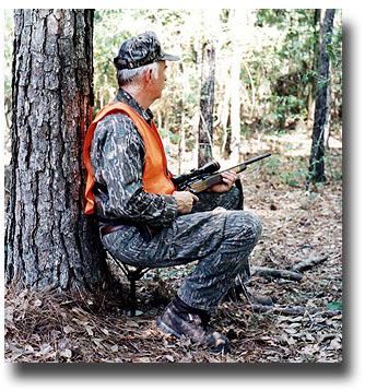 Ground Blind Deer Hunting
