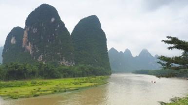 Li River as it is on the 20 Yuan note