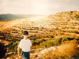 Boy at Battir