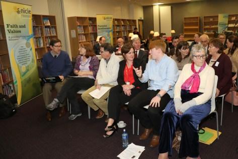 NICIE seminar, Lagan College, Belfast, Northern Ireland.