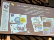 Gabriela JACOMELLA presentation. Global Fact 4 conference, Madrid, Spain. #GlobalFact4 @factchecknet @Poynter @ReportersLab (c) Allan LEONARD @MrUlster