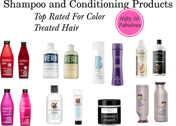 Top Rated Shampoo and Conditioners for Color Treated Hair