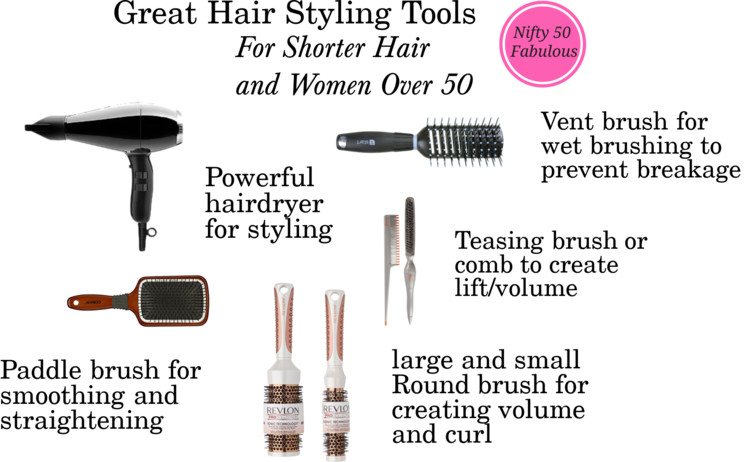 Great Hair Styling Tools for Women Over 49