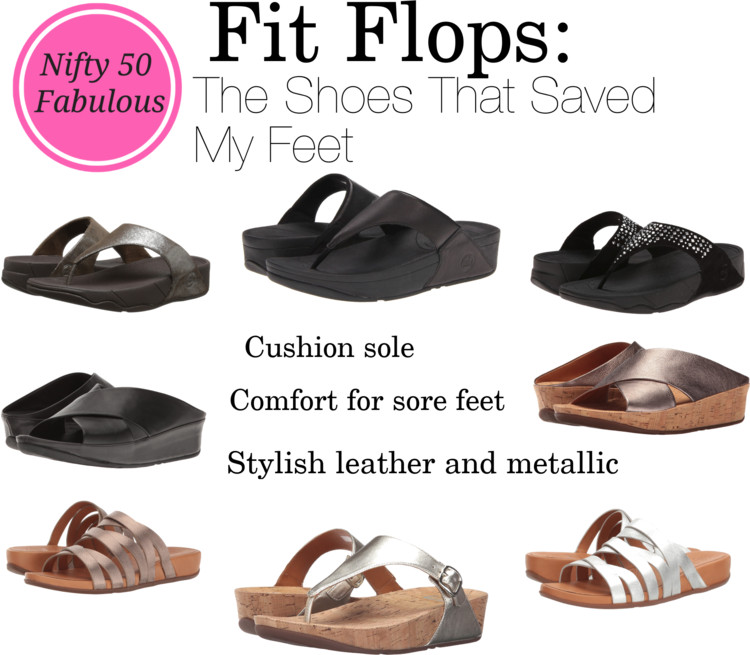 Fitflops are great for plantar facsiitis