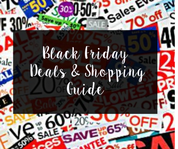 Black Friday Deals & Shopping Guide