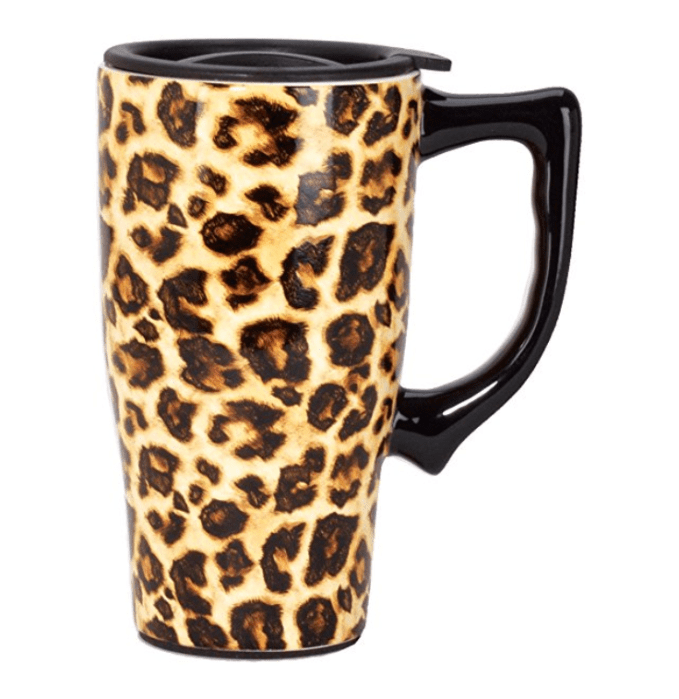 Leopard Print Travel Mug- My Fall Faves