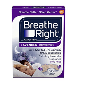 Lavendar Breathe Right Strips= My Fall Faves