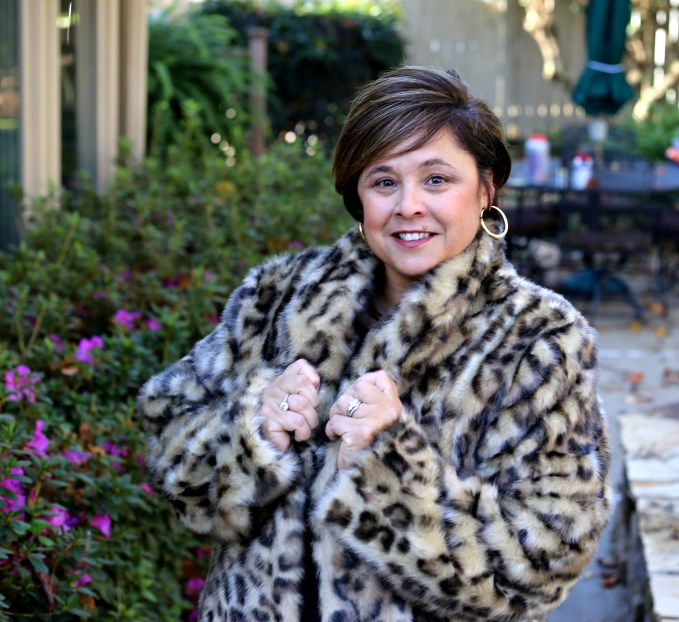 Animal Print Coat From Fabulous Furs