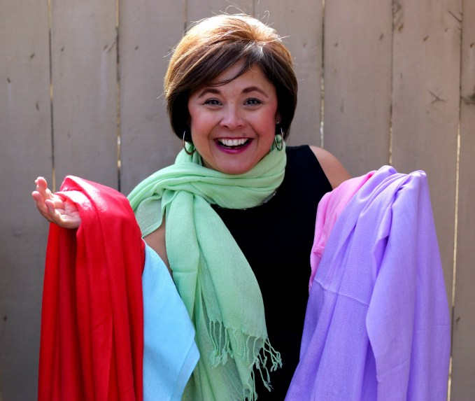 What to do with all my scarves? Peek inside my closet