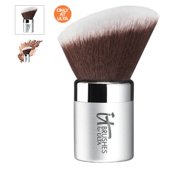 Have a brush dedicated just for bronzer. This kabuki style brush works great