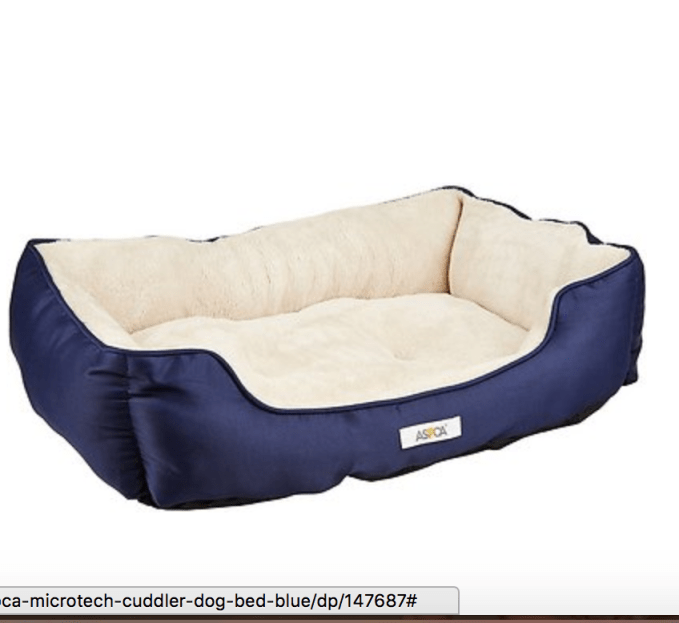 Cozy dog bed from Chewy.com