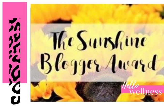 Power To Be A Positive Influence-Sunshine Blogger Award
