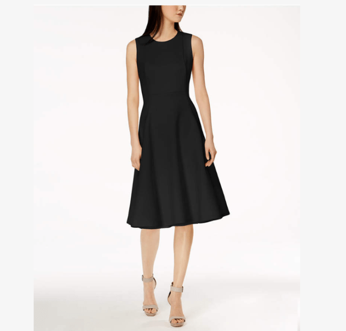 Need a longer length? Chose Little Black Dress in Midi
