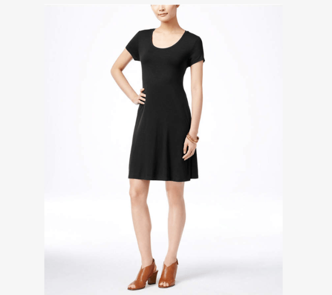 Add jacket/sweater/ vest boots and a scarf or statement necklace and this dress is instantly transformed for casual look