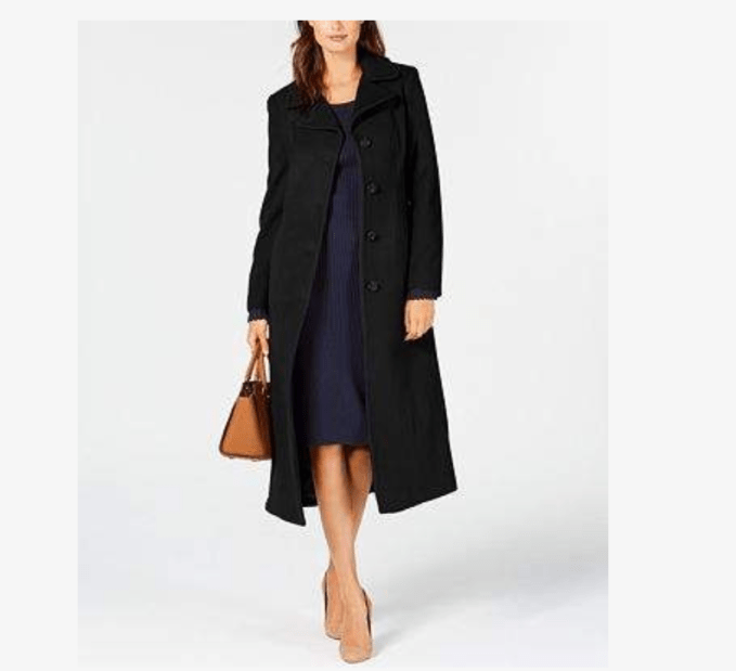 Wardrobe basics, outerwear you need in your closet-long wool coat