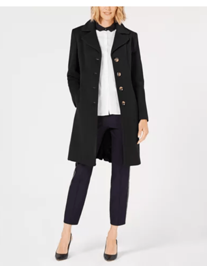 Short walker style coat is also a great addition to your closet and comes in many colors
