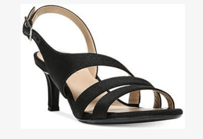 Try a kitten heel, smaller pointed heel for a dressy look - Naturalizer Taimi