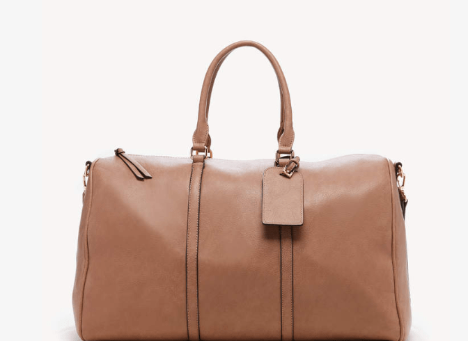 ole Society Lacie Weekender in Vegan Leather takes the style up a notch. Come in 5 different colors