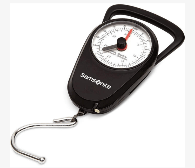 Luggage Scale to weigh bags before you go to the airport