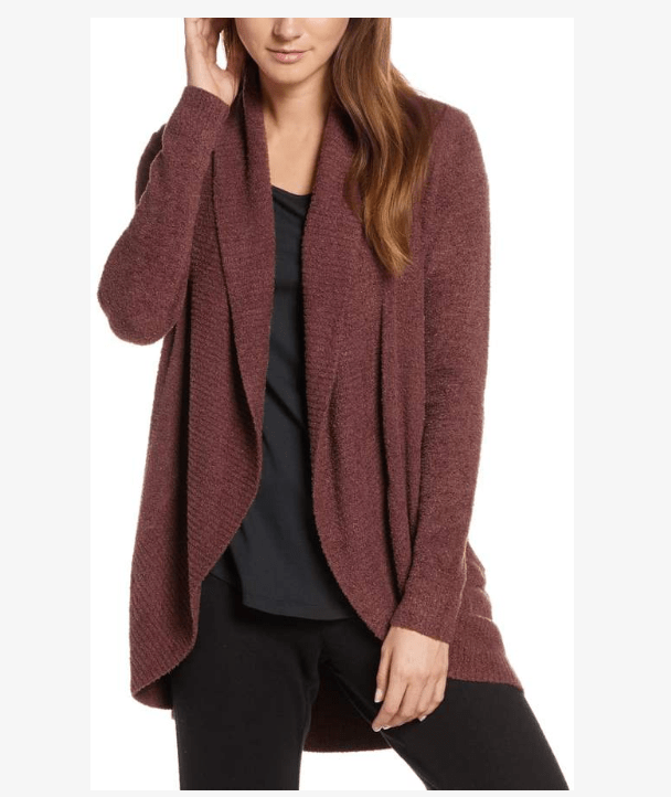 Barefoot Dreams Circle Cardigan comes in 13 colors- this is the newest Rosewood