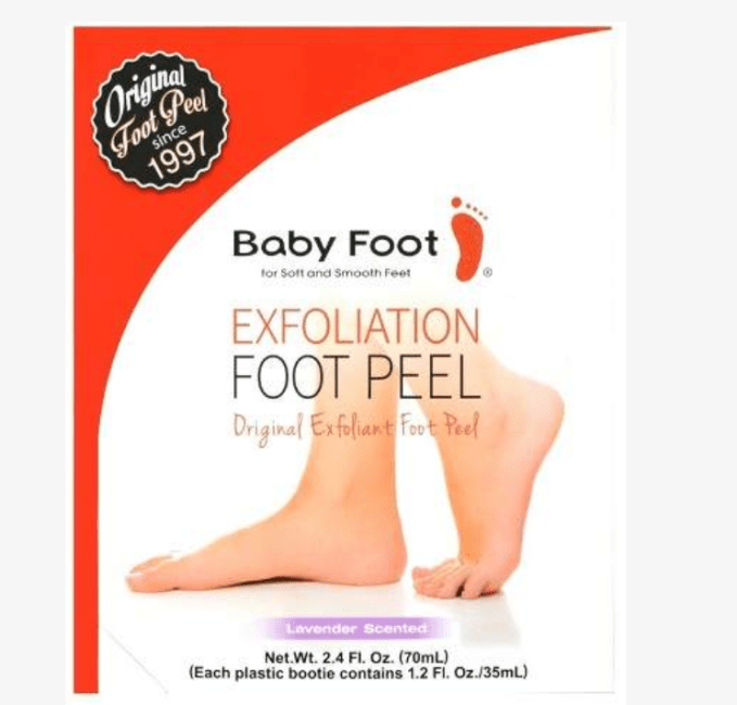 Messy, but extremely effective for removing dead skin from feet