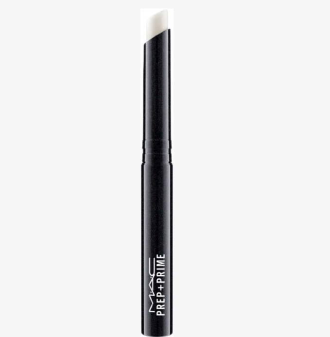 MAC Prep + Prime Lip is a color-free lipstick base that adds light moisture, smoothes and refines. Plus it improves the appearance of your lipstick
