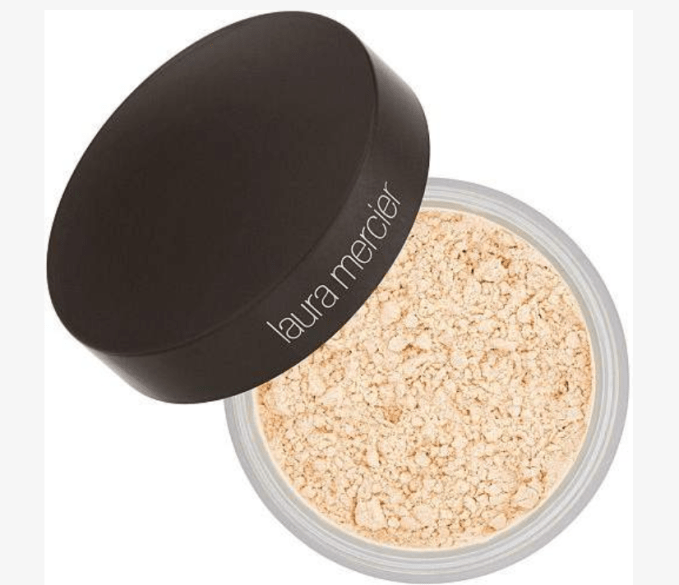 Laura Mercier Translucent Powder is the final touch to help set the makeup. It feels almost silky on the skin.