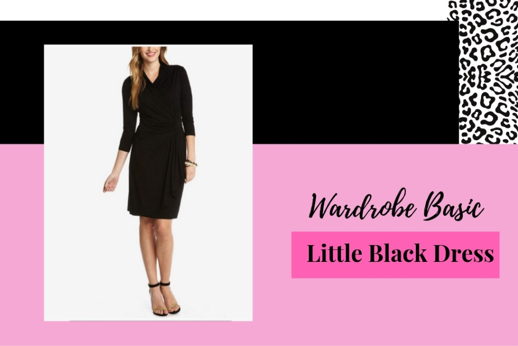 Wardrobe Basics- Little Black Dress For Women Over 50
