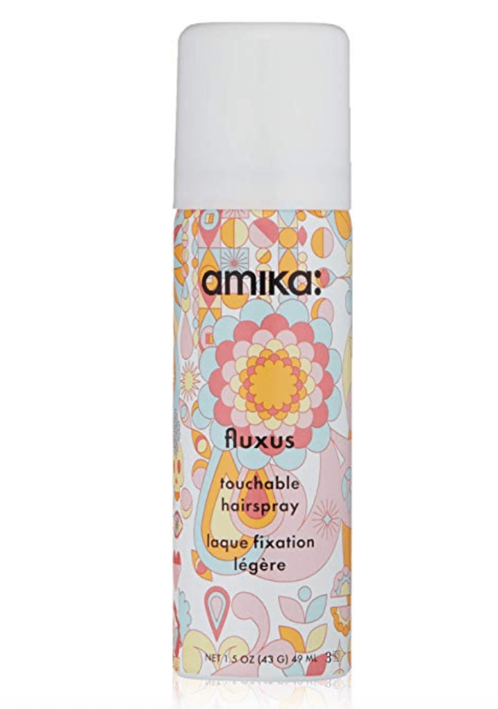 Women Over 50- Tools And Products For Fabulous Hair -Amika touchable hairspray is a flexible hold perfect for events and it smells amazing.