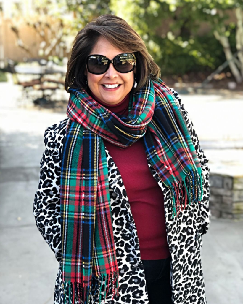 "Worried about mixing prints? Don't be! Animal prints are the ""new neutral"" and go with anything.  Trying being bold and mix an animal print with a plaid."