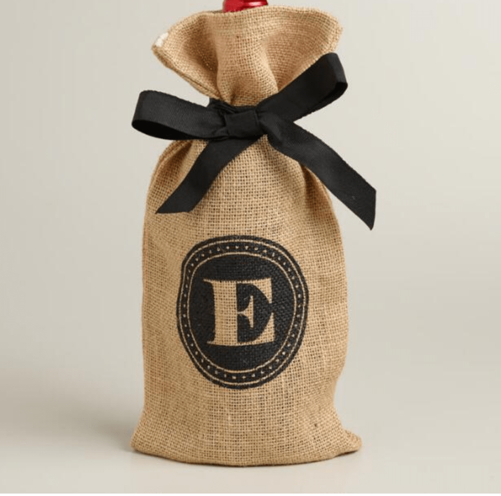 Love the burlap bags for hostess gifts