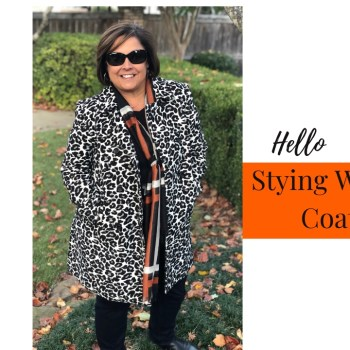 How To Style A Coat For Winter Weather