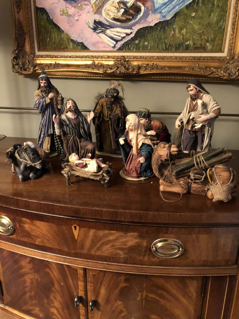 This Manger Set Has Been A Fixture In My Home For Over 30 Years