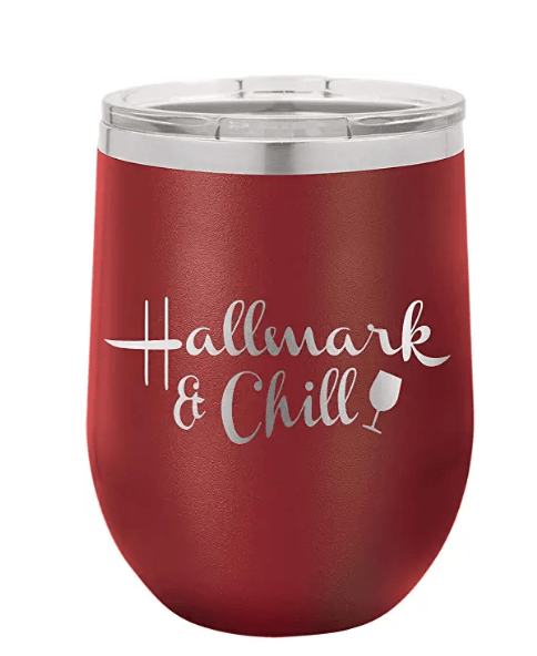 Hallmark & Chill insulated wine tumbler