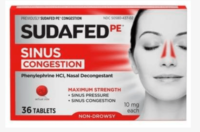 A runny nose is actually good, it means your body is doing its job.  But when the sinuses get clogged and pressure builds (sinus headache) you will want to change to different meds.  I like Sudafed PE. It is the drugs Phenylephrine HCL which is a nasal decongestant. It will help your sinuses drain and your nose run.