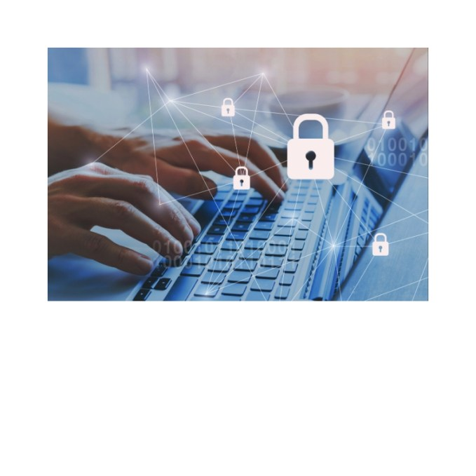 Set up security features in your social media accounts